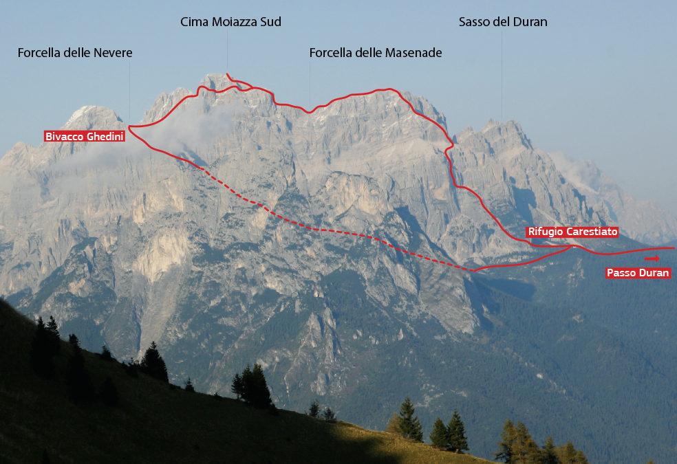 CIMA MOIAZZA SUD (2878 m)