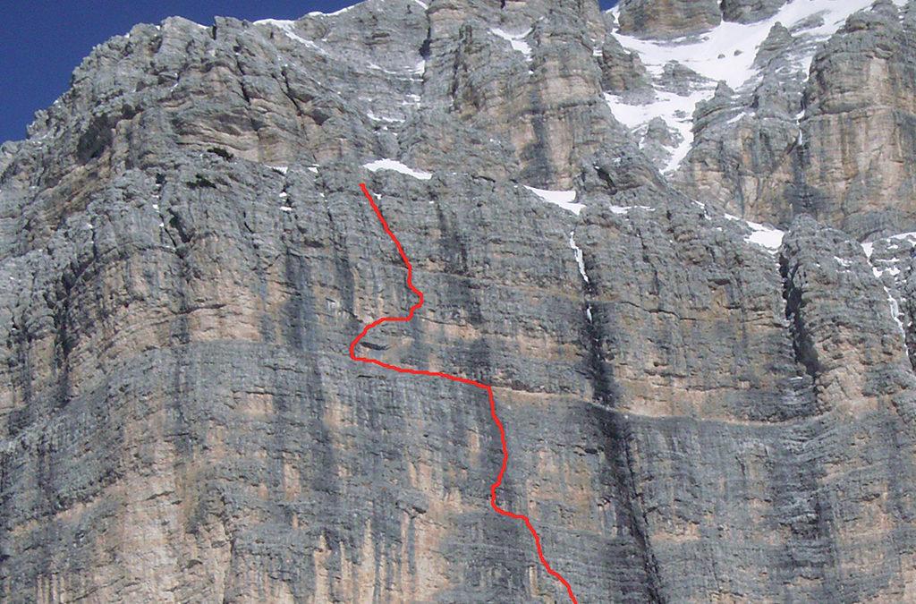 PALA DELLE MASENADE (2413 m) – via Soldà
